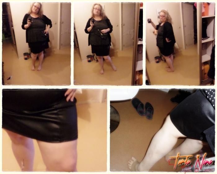 Mini jupe tube simili cuir asos curve (clic droit avec la souris et ouvrir dans un nouvel onglet pour voir la photo en plus grand)
