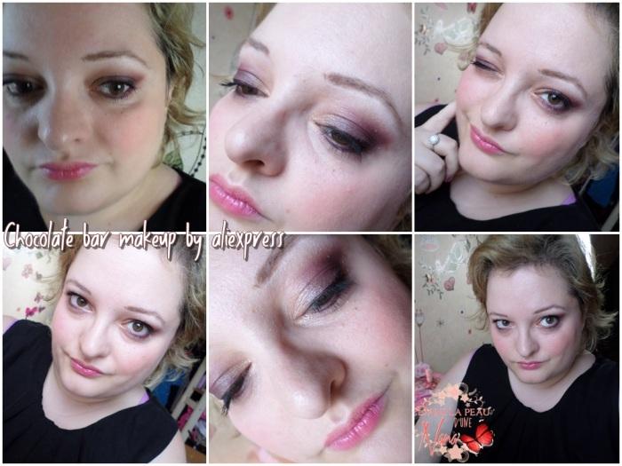 chocolate bar makeup 2