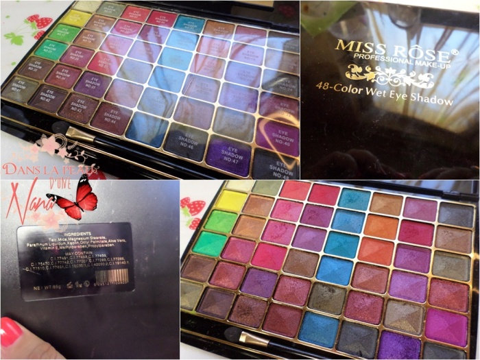palette miss rose