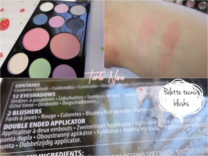 palette tecnics blush